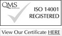 View our certificate HERE