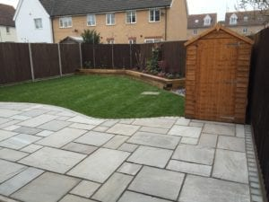 Garden re-design after